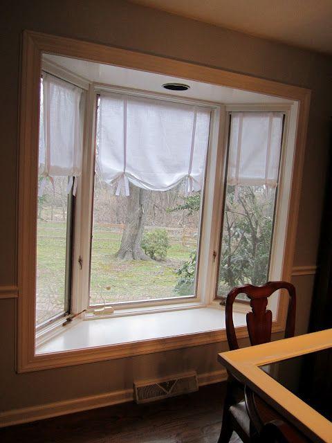 DIY Tutorial: Make Your Own No-Sew Drape Shade Curtains (like Pottery Barn!)