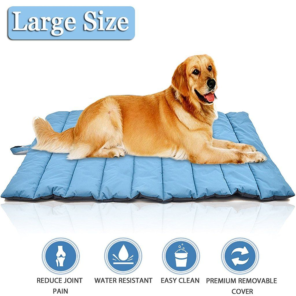Large dog bed mat cover, waterproof and portable, outdoors