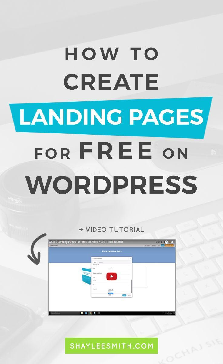 How To Create Landing Pages For Free On Wordpress Consejos Cursillo Blog