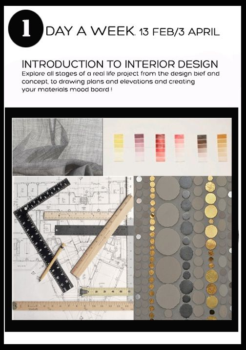 Interior Design Introductory Course At Insight School Of Interior