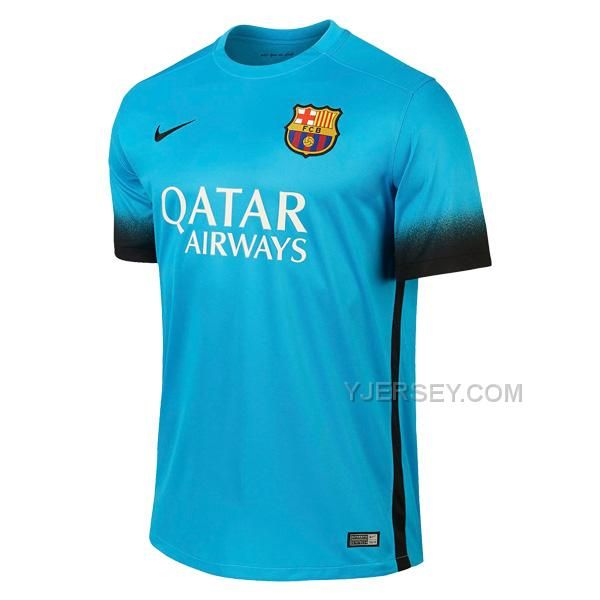 efffb6c70c38 Barcelona Away Blue Champion League Jersey Kit(Shirt+Short)