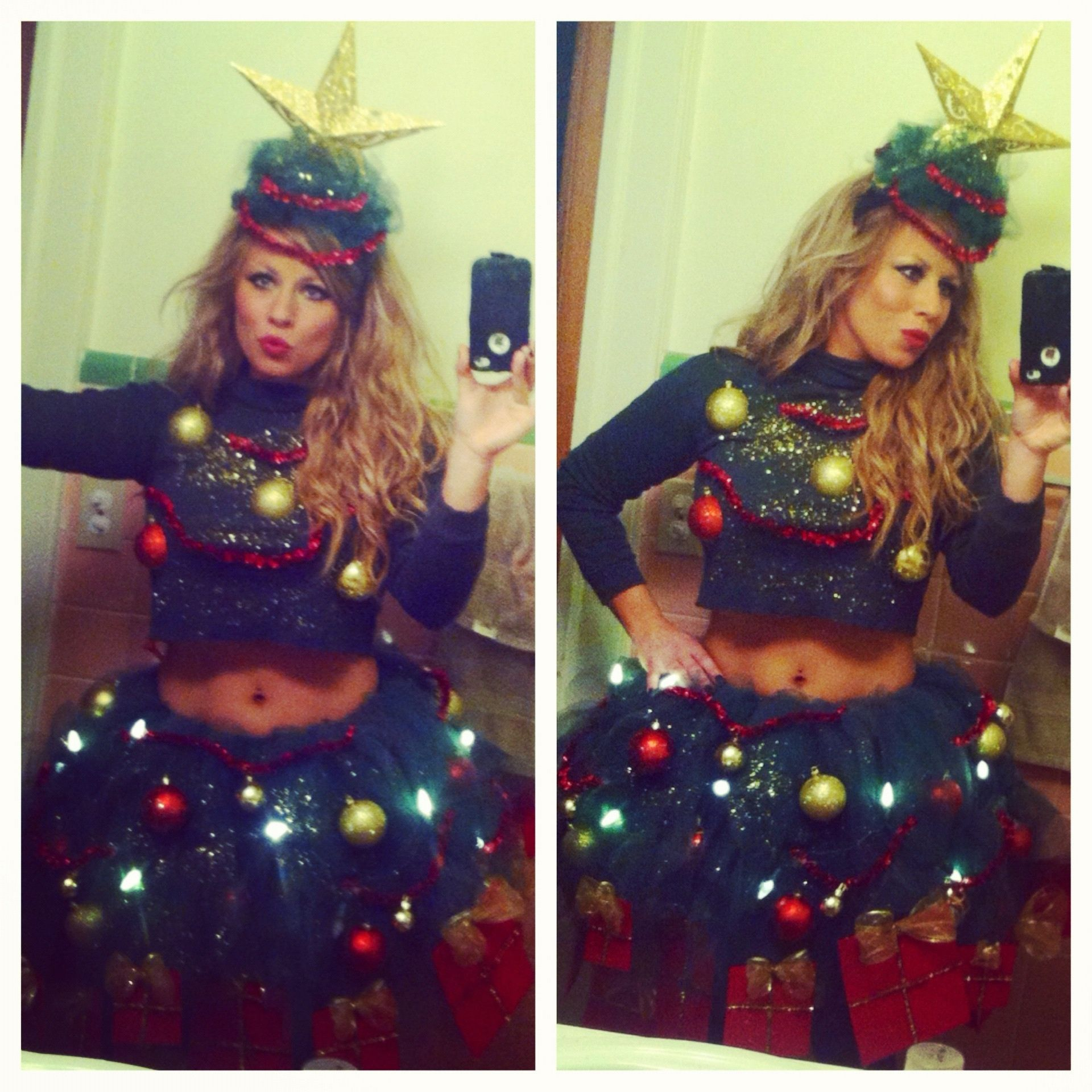 Christmas tree Halloween costume  sc 1 st  Pinterest & Christmas tree Halloween costume | Home. for the Holidays ...