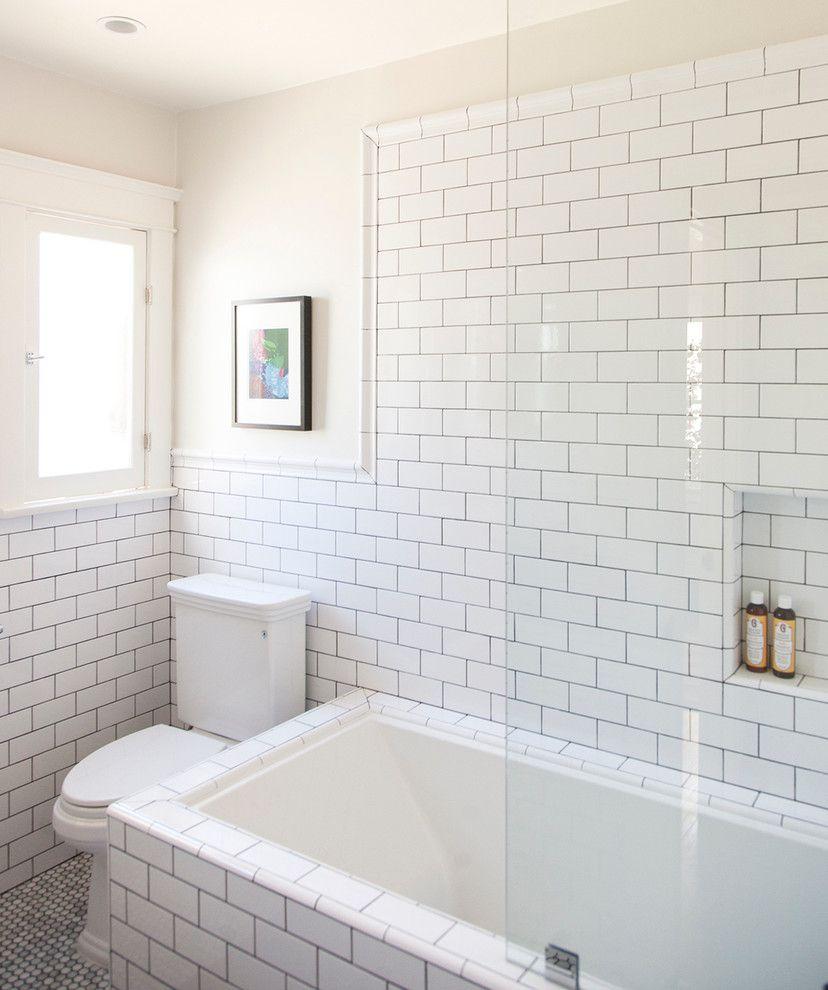 Inspired Rejuvenation Lighting mode Los Angeles Traditional Bathroom ...
