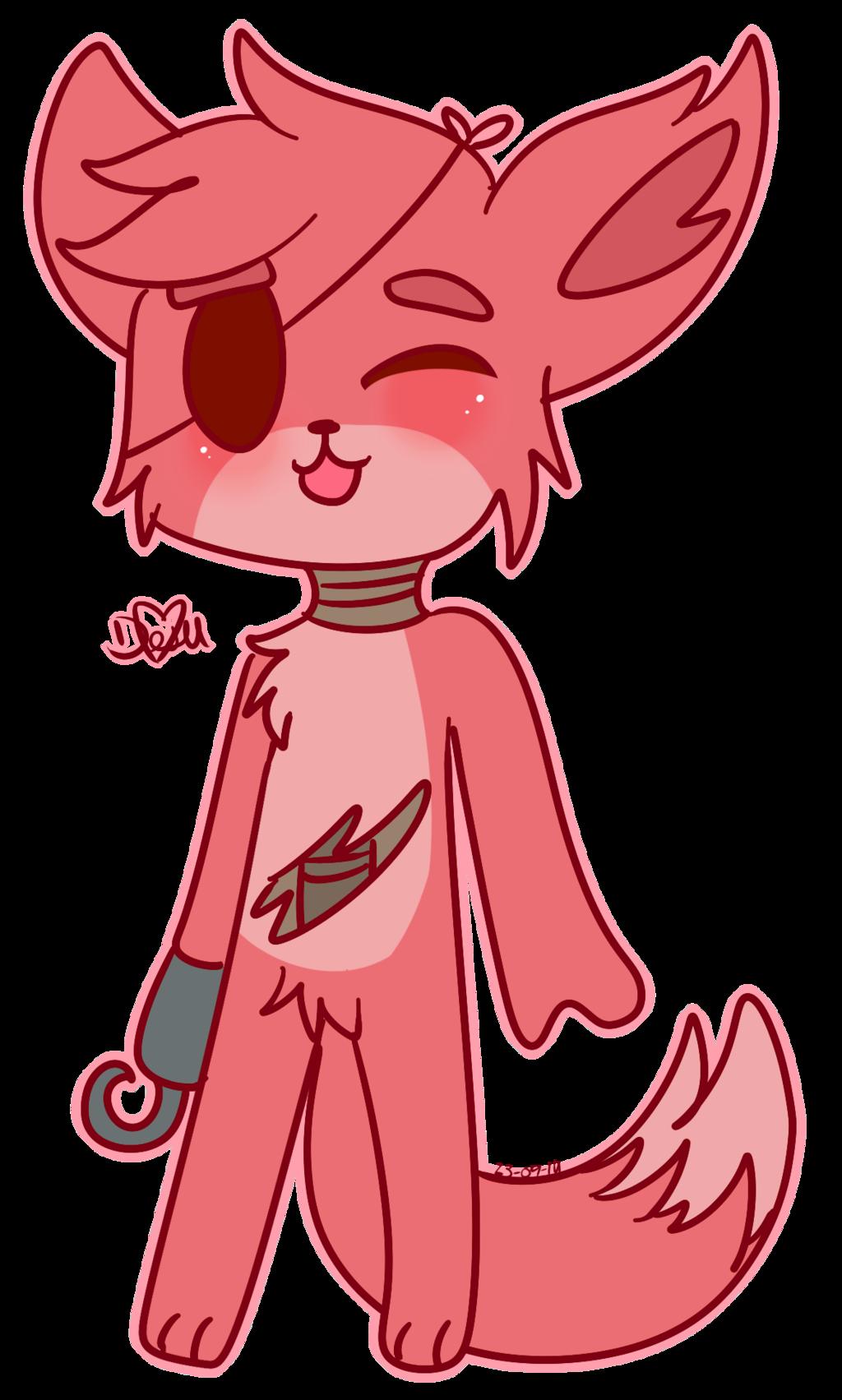 Kawaii Foxy By Chicapitufa On Deviantart Fnaf Fnaf Foxy Anime Fnaf