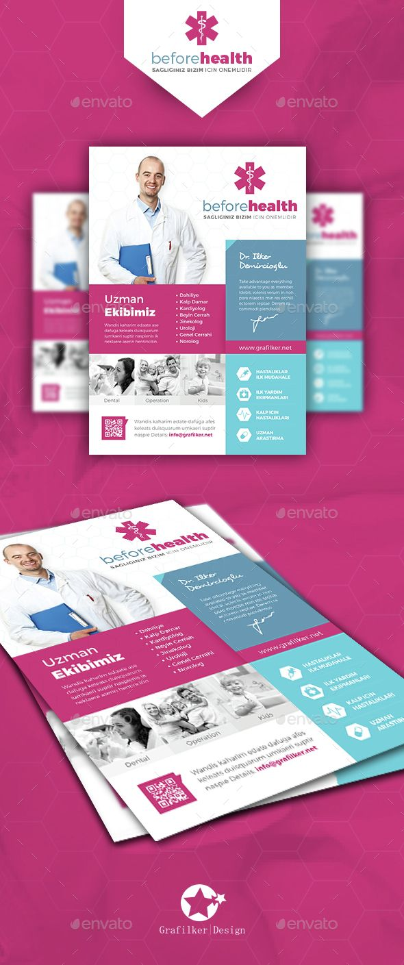 Health Flyer Templates Flyer Template Template And Business Flyer
