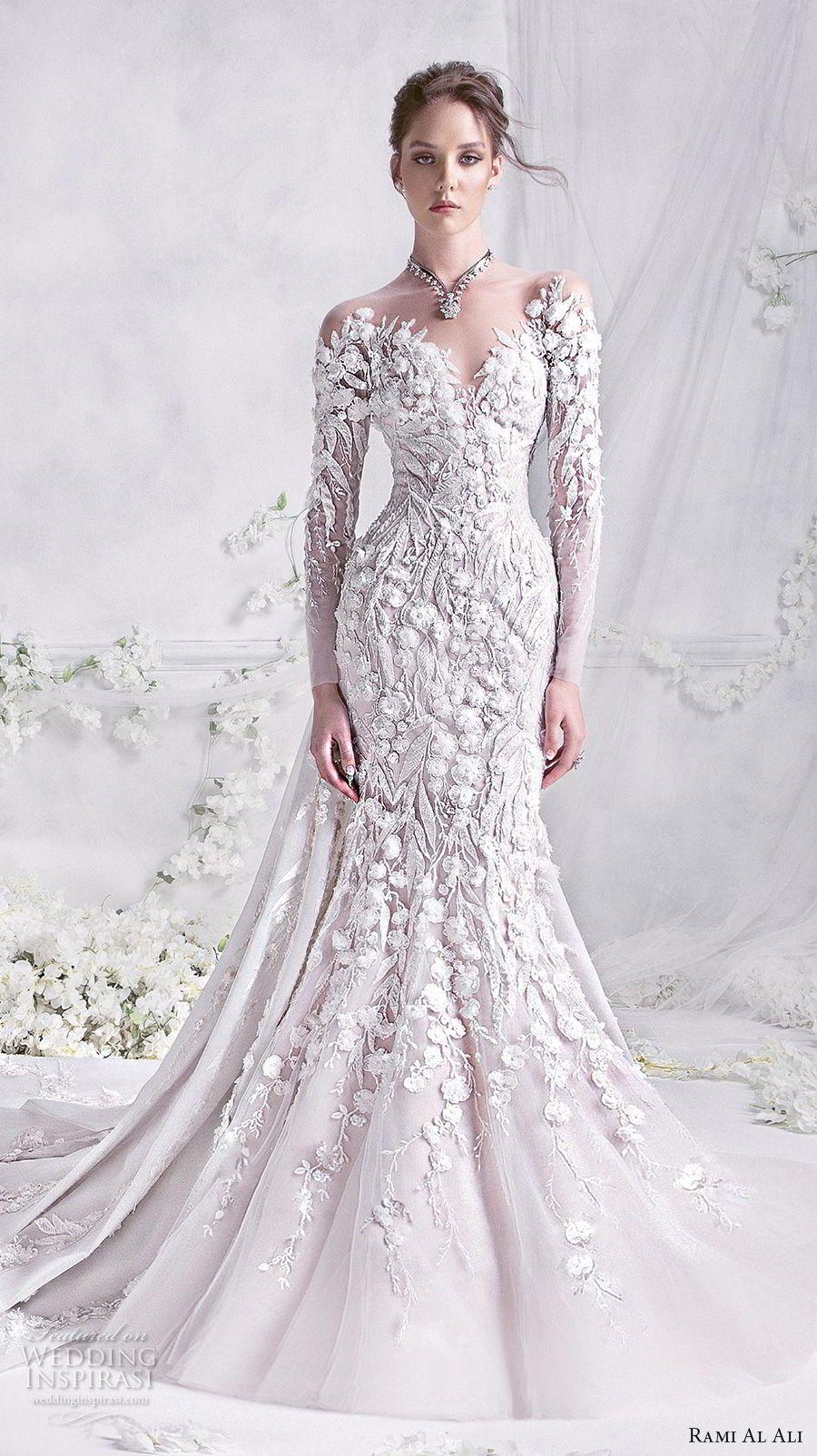 Rami al ali wedding dresses mermaid wedding dresses trumpets