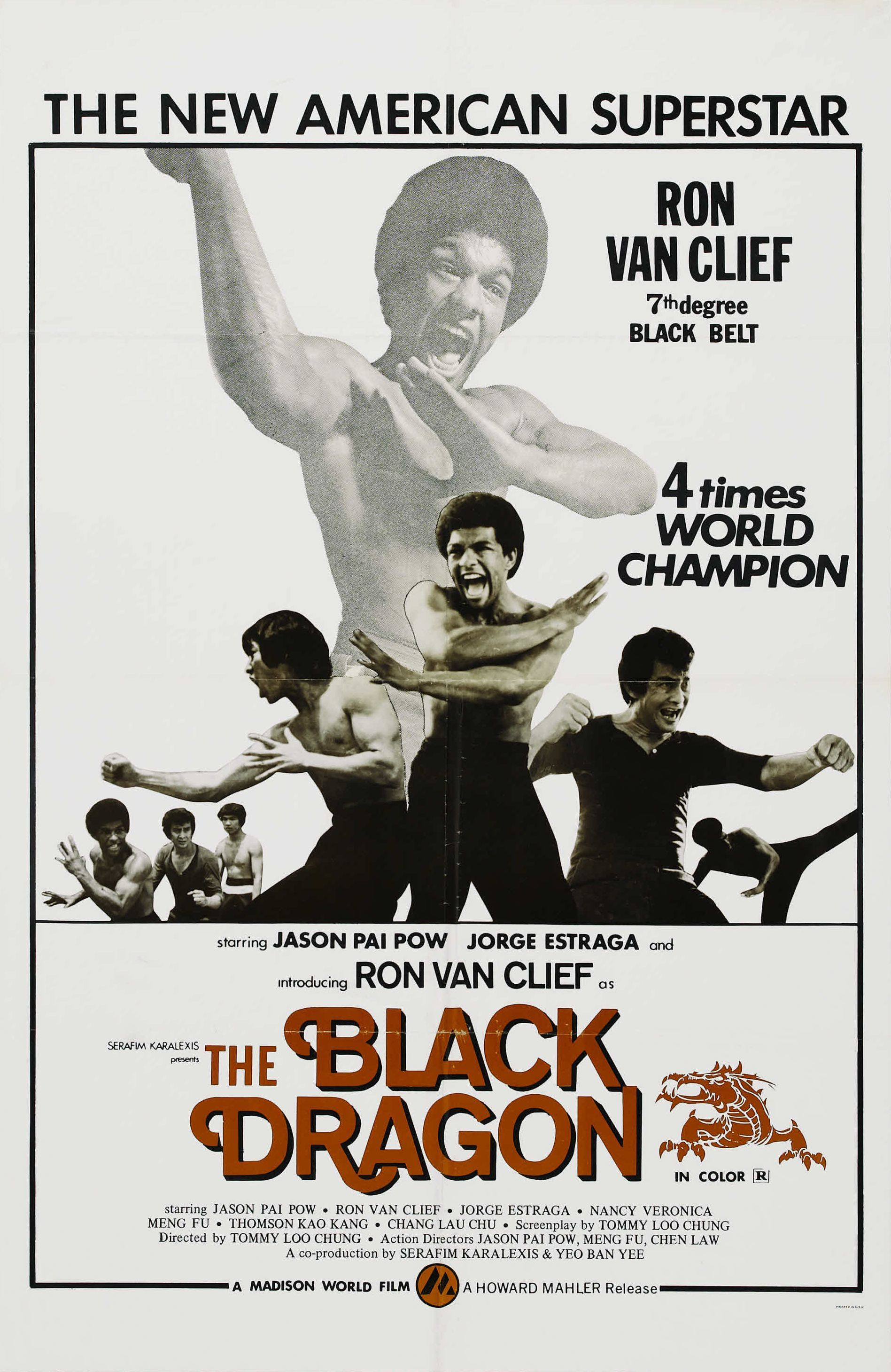 Blaxploitation Film Posters Wrong Side Of The Art Part 8 Blaxploitation Film Black Dragon Movie Posters