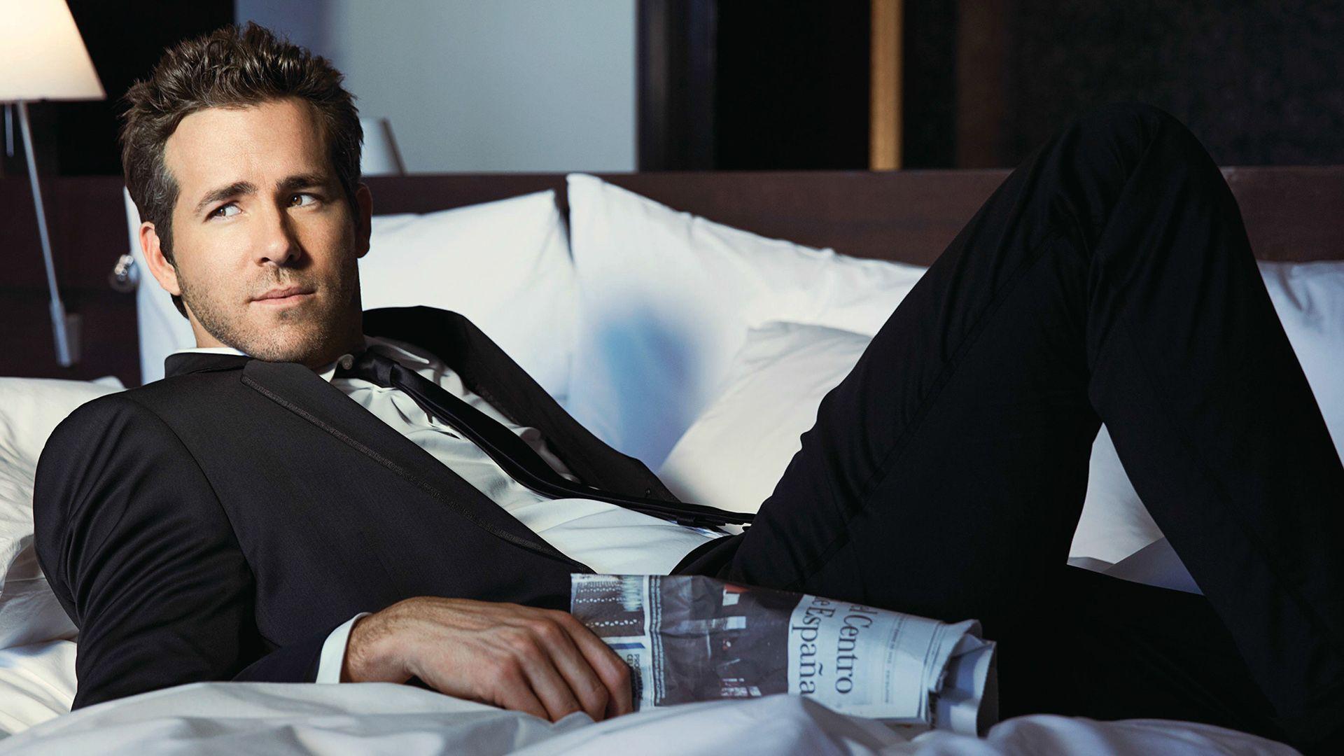 Ryan Reynolds Ryan Reynolds Celebrities Man Photo