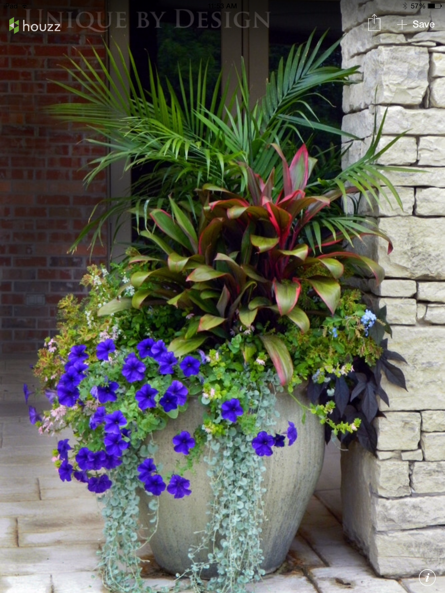 A Group Planting In One Large Container Is Much More Dramatic On Your Porch  Than Several Separated Potted Plants.   Flower Beds And Gardens