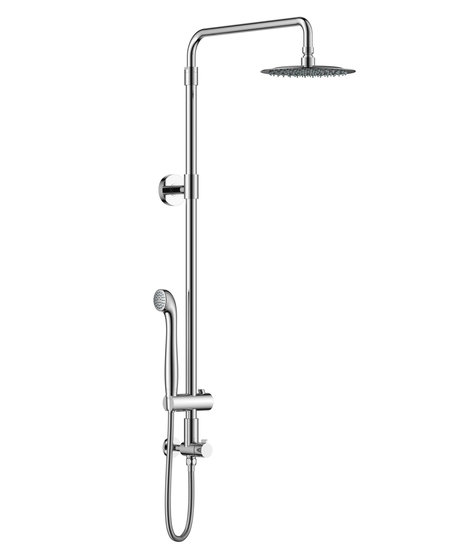 Aurea Retrofit Rain Shower Set With Adjustable Height Shower Head