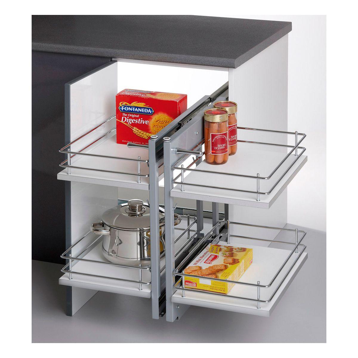 Linea Compact Minim Kit Bastidor Extraible Interiores De Armarios Cocinas Y Banos Muebles