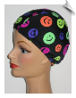 Swimcaps by Fran. Lycra swim caps for swimming and for sleep caps