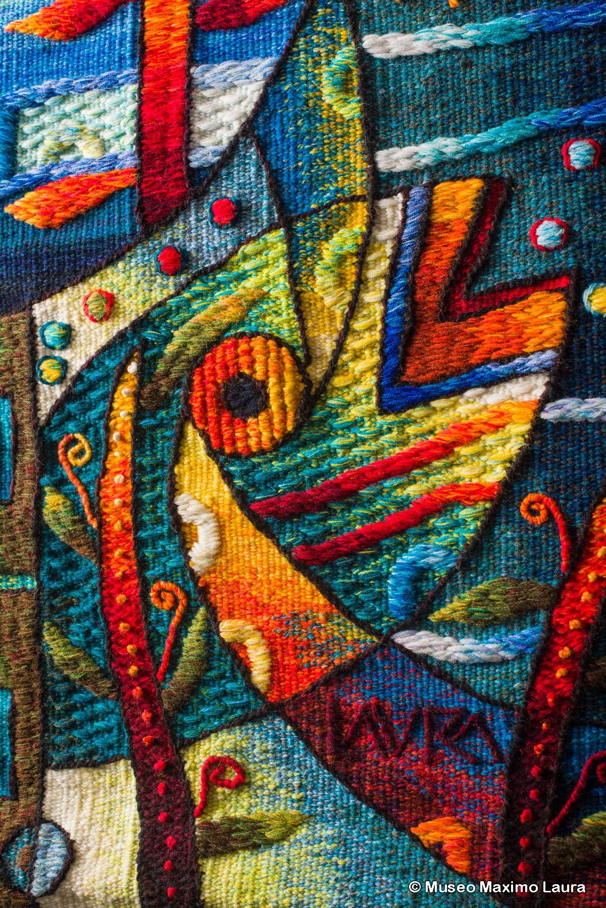 Tapestry Detail: \