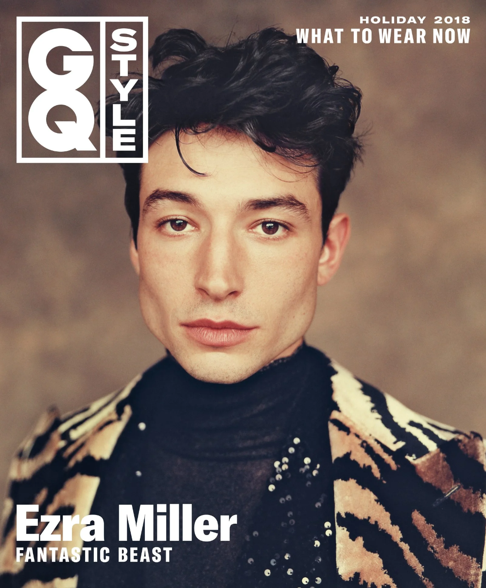 Ezra Miller Is the Gender-Bending, Goat-Delivering Hollywood Star of the Future #hollywoodstars