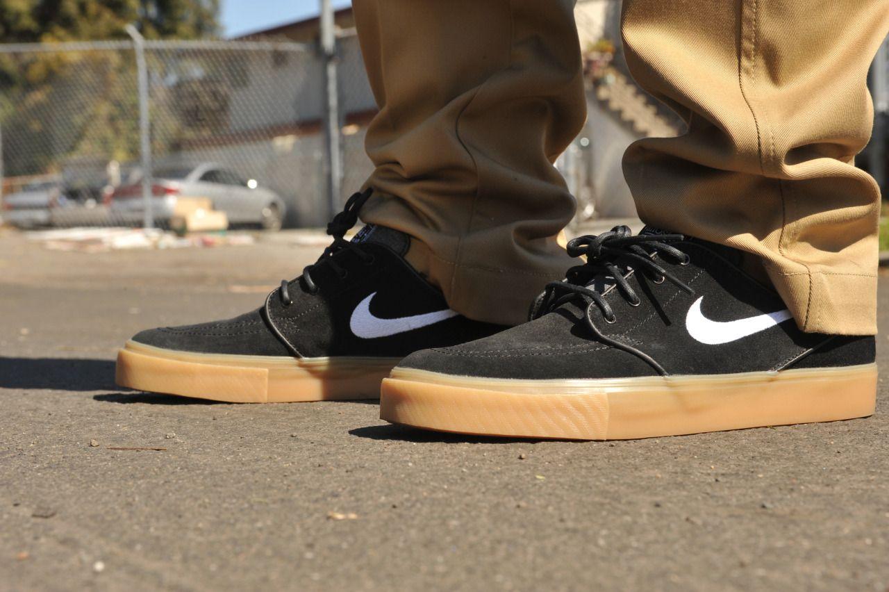 Nike Sb Janoski Black White Gum Http Www Popname Cz Cze Produkty Html Nike Sb Sapatos Tenis Roupas