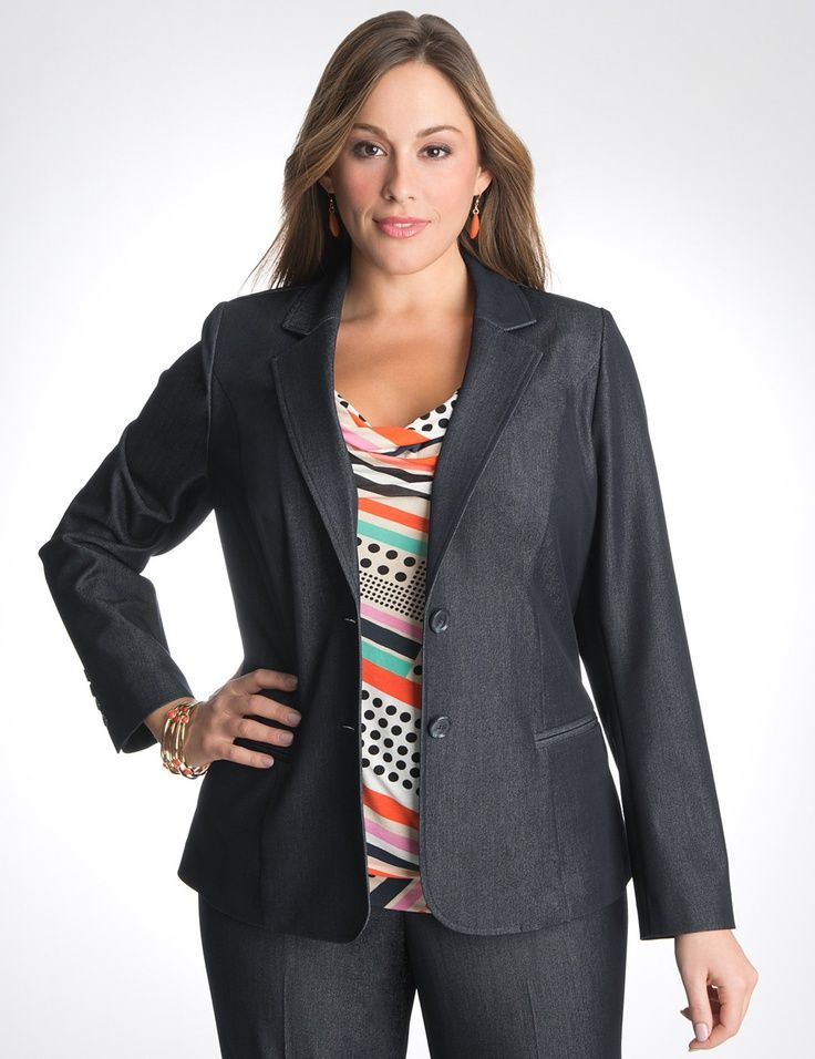 Dress Professionally In Plus Size Curves Clothes And Woman