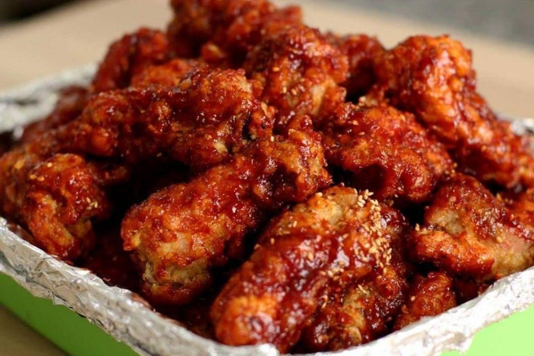 Nak Lagi Resepi Follow Je Resepibersama Spicy Korean Chicken Bahan2 Spicy Fried Chicken Spicy Korean Chicken Easy Chicken Recipes
