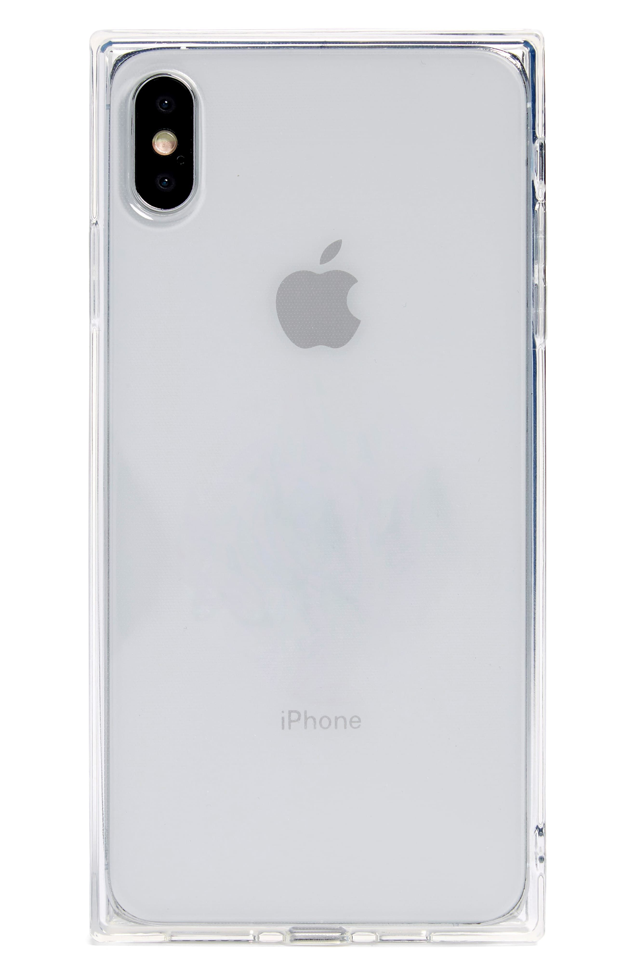 Recover Squared Clear Iphone X/xs, Xs Max & Xr Case