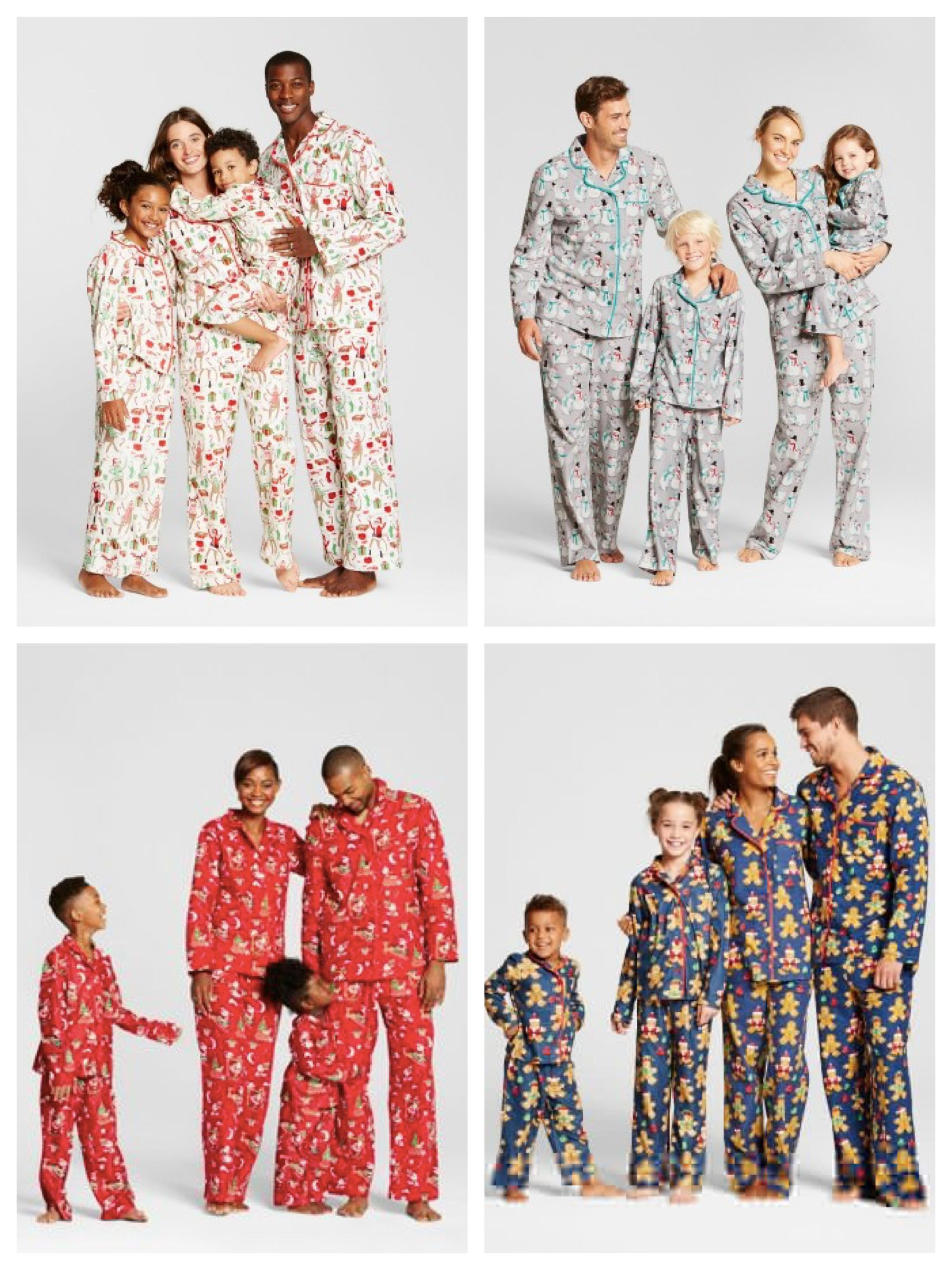 49de2634546373 Target Family Matching Christmas Pajamas | Holiday Matching Family ...