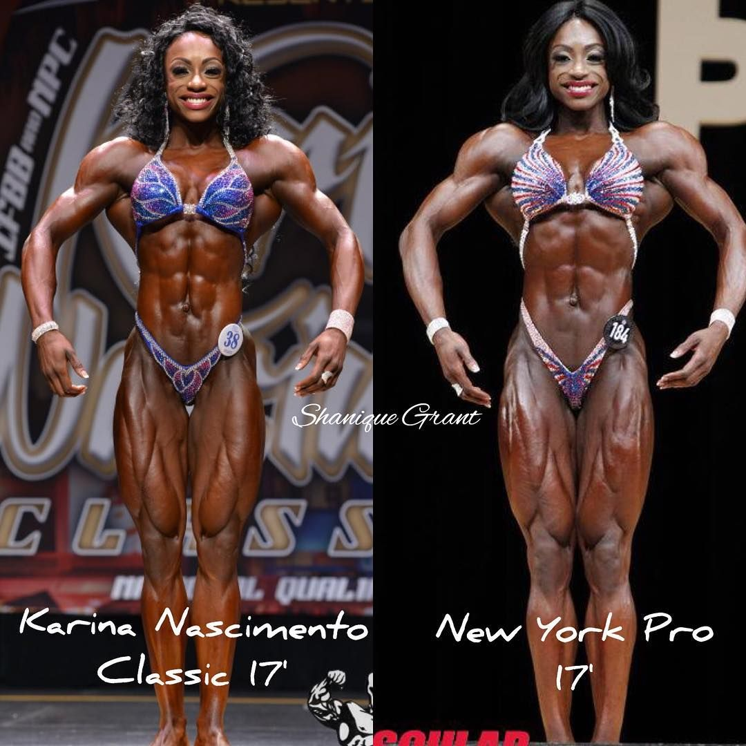Check Out Shanique Grant S Delts And Quads She Looks Like Some Kind Of Alien Those Proportions Are Something Out Of A Comic Book B Delts Bodybuilding Quads