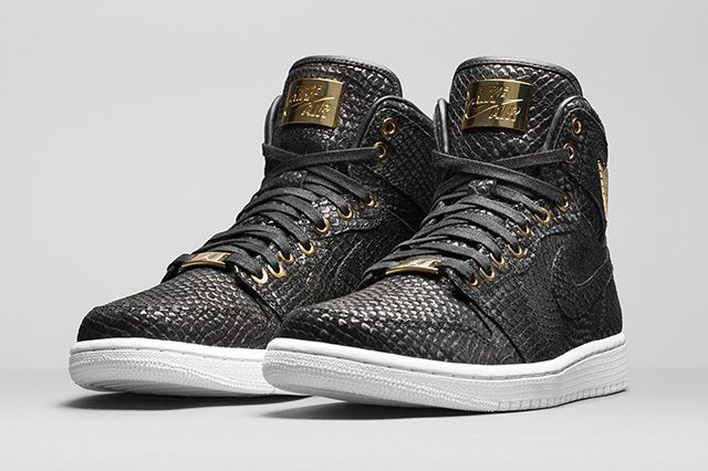 24ddebb882b AIR JORDAN 1 HIGH 'PINNACLE' (BLACK/GOLD) - Sneaker Freaker | Kicks ...