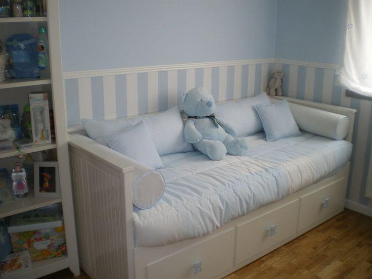 Resultado de imagen de habitacion infantil divan hemnes - Divan hemnes ikea ...