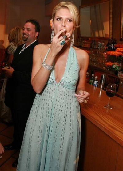 Celebrity Smoking Women