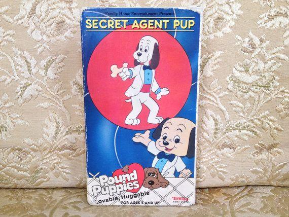 Rare Pound Puppies Vhs 1988 2 Animated Episodes Tonka Home Video Cartoon Tv Show Pound Puppy 80 In 2020 Pound Puppies Pound Puppies Cartoon Cartoon Tv Shows