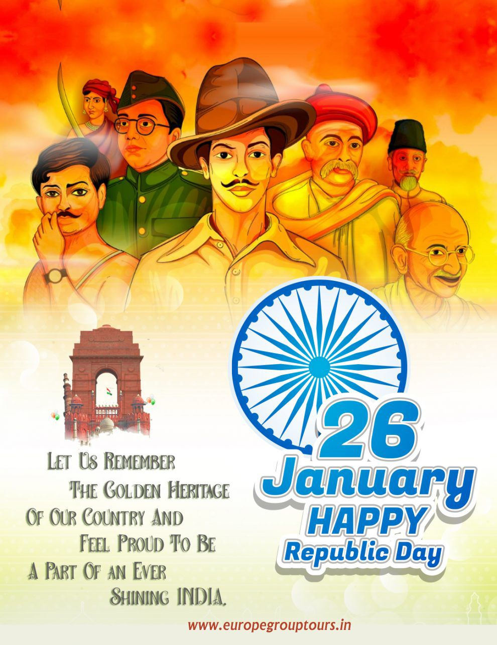 Happy Republic Day In 2021 Republic Day Republic Day India Independence Day Drawing Happy republic day india 2021 wishes