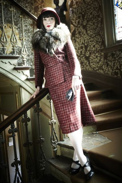 Couture et Tricot: Style Muse: Miss Fisher (Miss Fisher's Murder Mysteries)