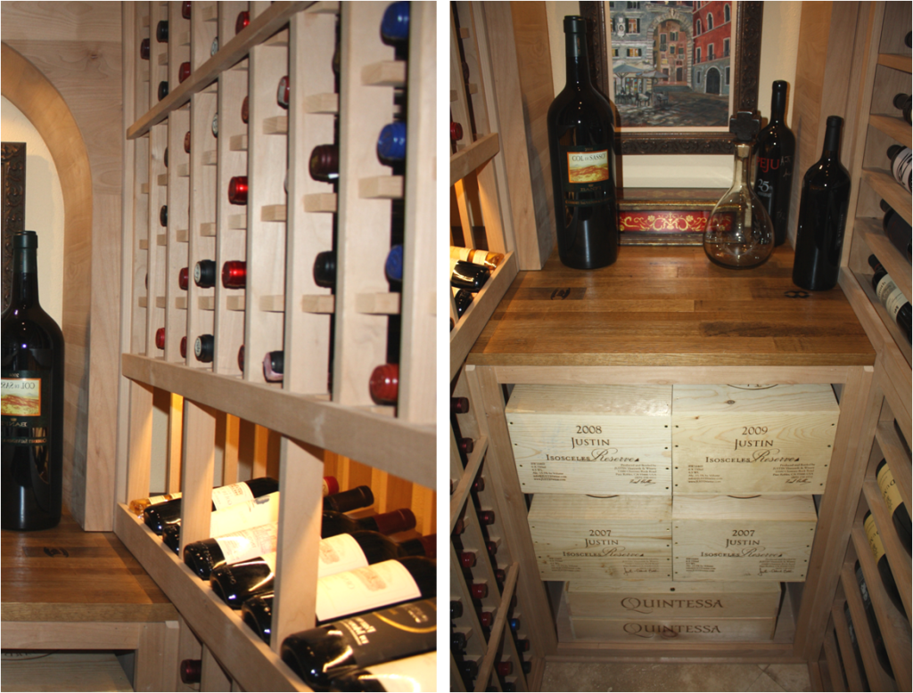 Wine Cellar Specialists Has Converted A Small Closet Into A