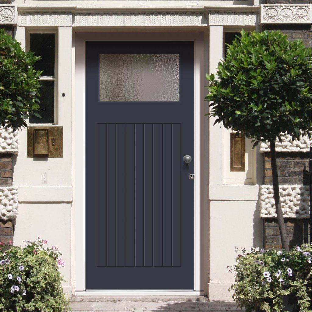Made To Order Exterior Door Lismore Door Fitted With Toughened