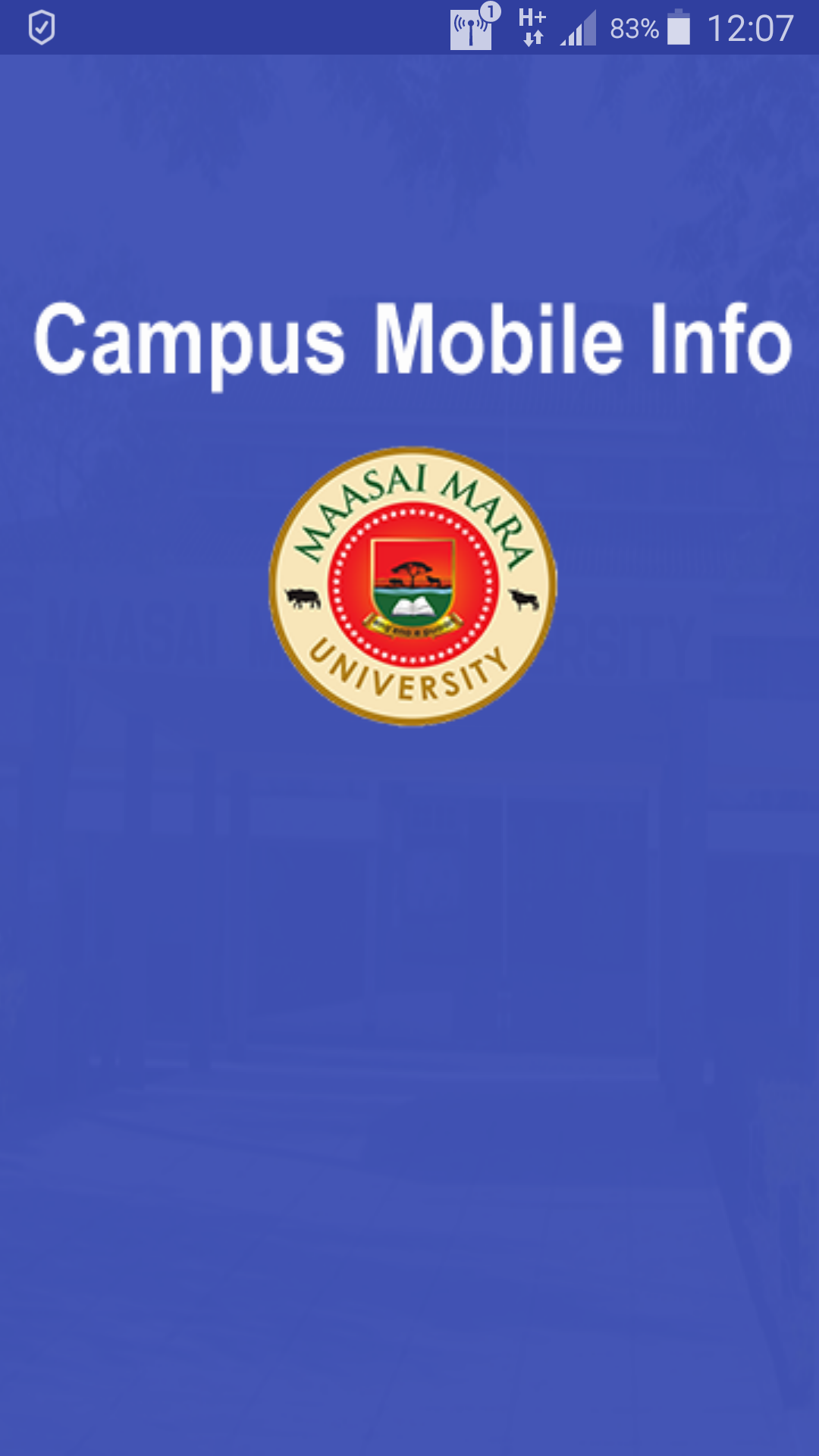 Campus Mobile Info Application with Admin Panel by