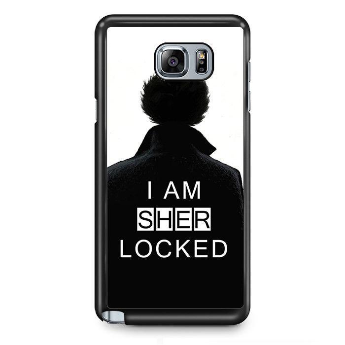 I Am Sher Locked TATUM-5451 Samsung Phonecase Cover Samsung Galaxy Note 2 Note 3 Note 4 Note 5 Note Edge