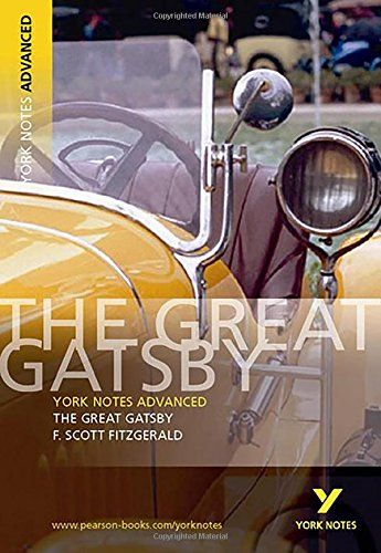 Download The Great Gatsby York Notes Advanced By F Scott