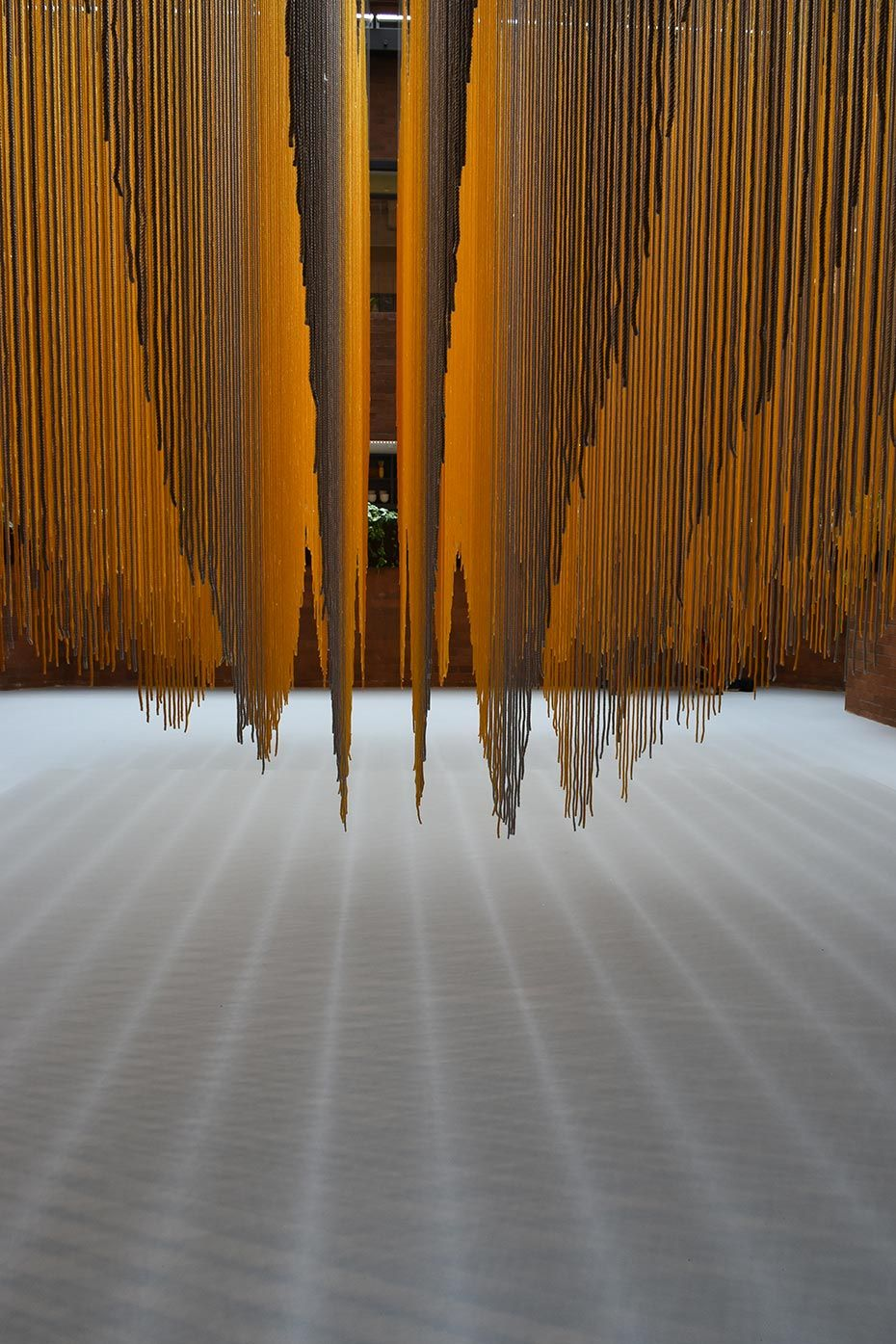 Rachel Mica Weiss Large Scale Installations Span Thread Textile