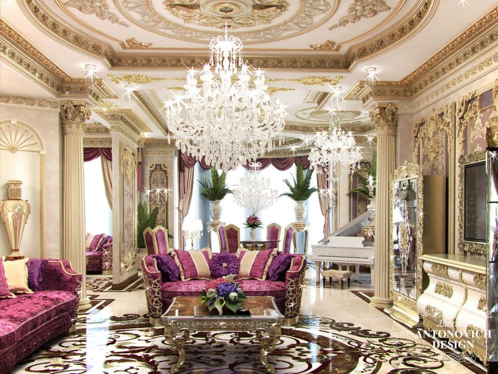 Professional Services Of Living Room Interior Designs By One The Best Decoration Companies In Qatar