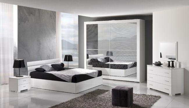 Camere Da Letto Moderne Bianche E Nere.Questa Camera Da Letto Ha Bisogno Di Una Cassettiera 12drawers