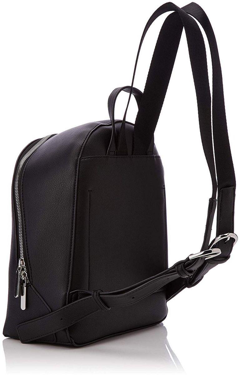 كالفن كلاين شنطة ظهر للنساء جلد اسود K60k604804 Leather Bags Leather Backpack