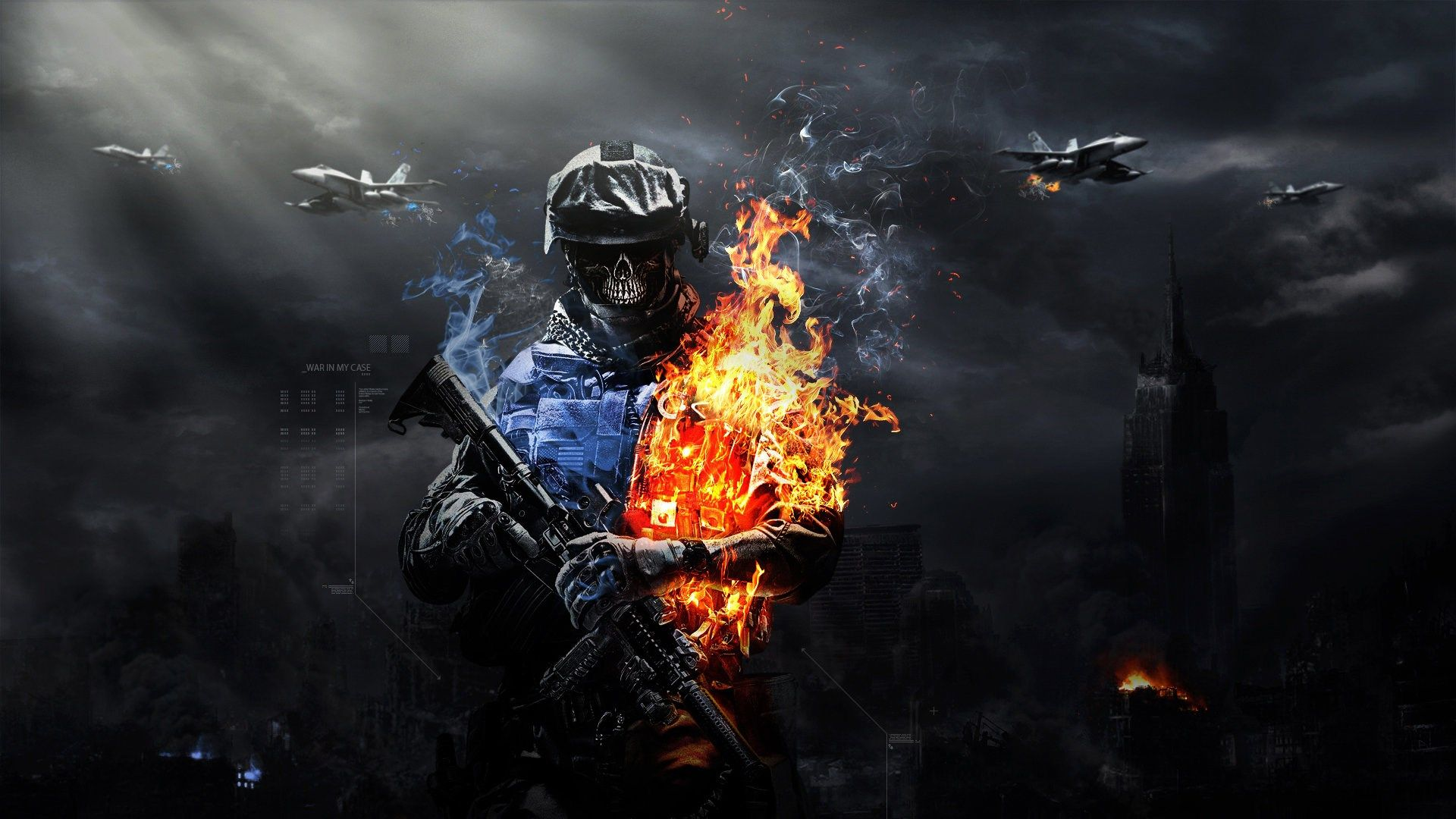 Battlefield 3 Backround For Desktop Hd Tyquan Black 1920x1080 Best Gaming Wallpapers Zombie Wallpaper Gaming Wallpapers