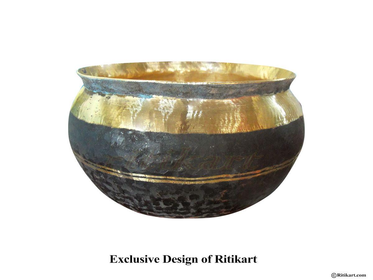 Kansa Bronze Muktapuri Bowl From Balakati Large Bronze Cleaning Dishes Craftsman