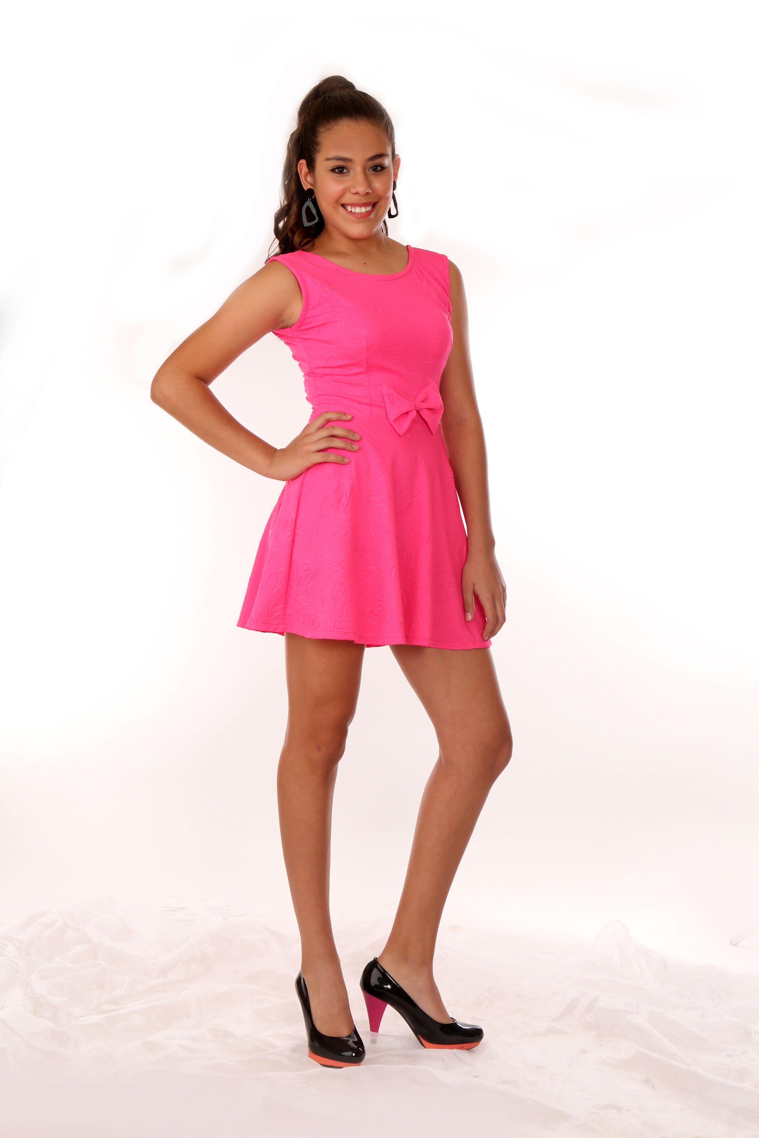 Vestido en Licra Techno Estampada. Disponible en diversos colores. Disponible en tallas XS, S, M, L y XL.