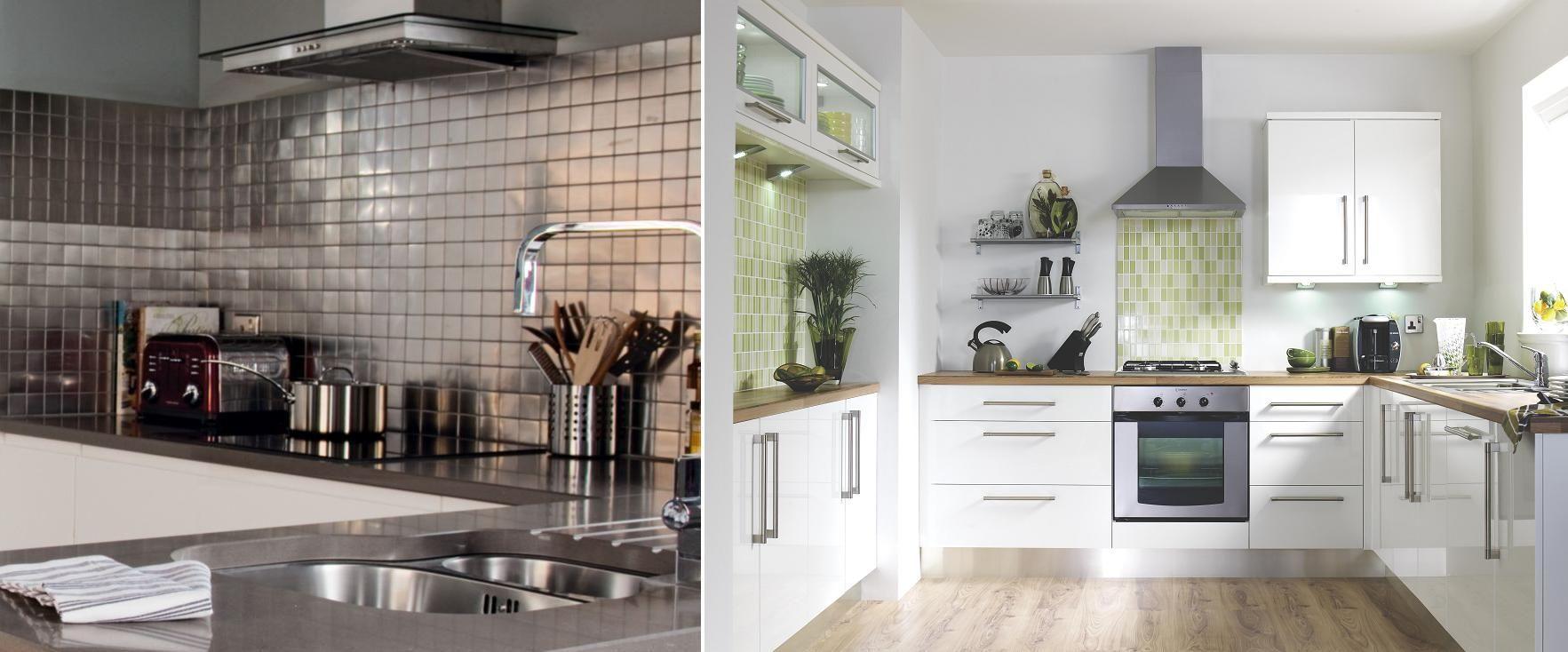 Kitchen Tiles Ideas For Splashbacks Part - 25: Tiled Backsplash Only - Kitchen Tile Style