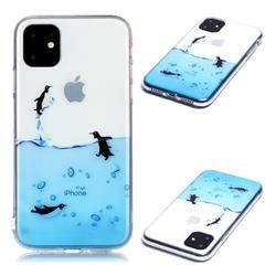 Penguin Out Sea Super Clear Soft TPU Back Cover for iPhone 11 (6.1 inch) #iphone11