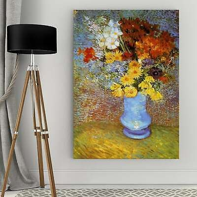 Vincent Van Gogh 'Vase of Flowers' Wrapped Canvas Art Multi 24 x 36 #fashion #home #garden #homedcor #postersprints (ebay link)