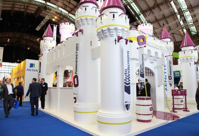 Exhibition Stand Design And Build Manchester : Creative exhibition stand design and build for markerstudy at biba
