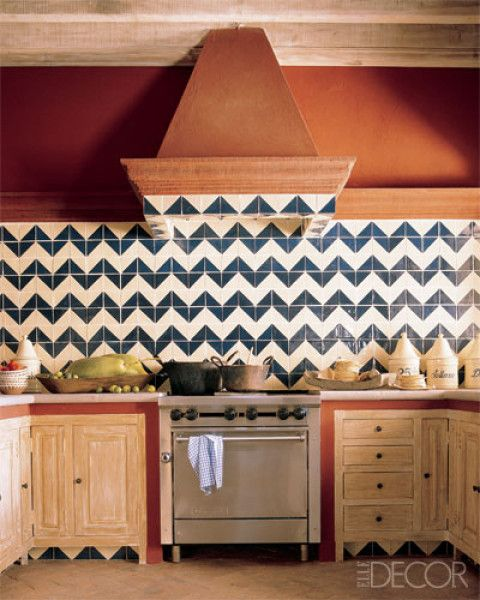 Talavera tiles make a statement HOME! Pinterest - fliesen tapete küche