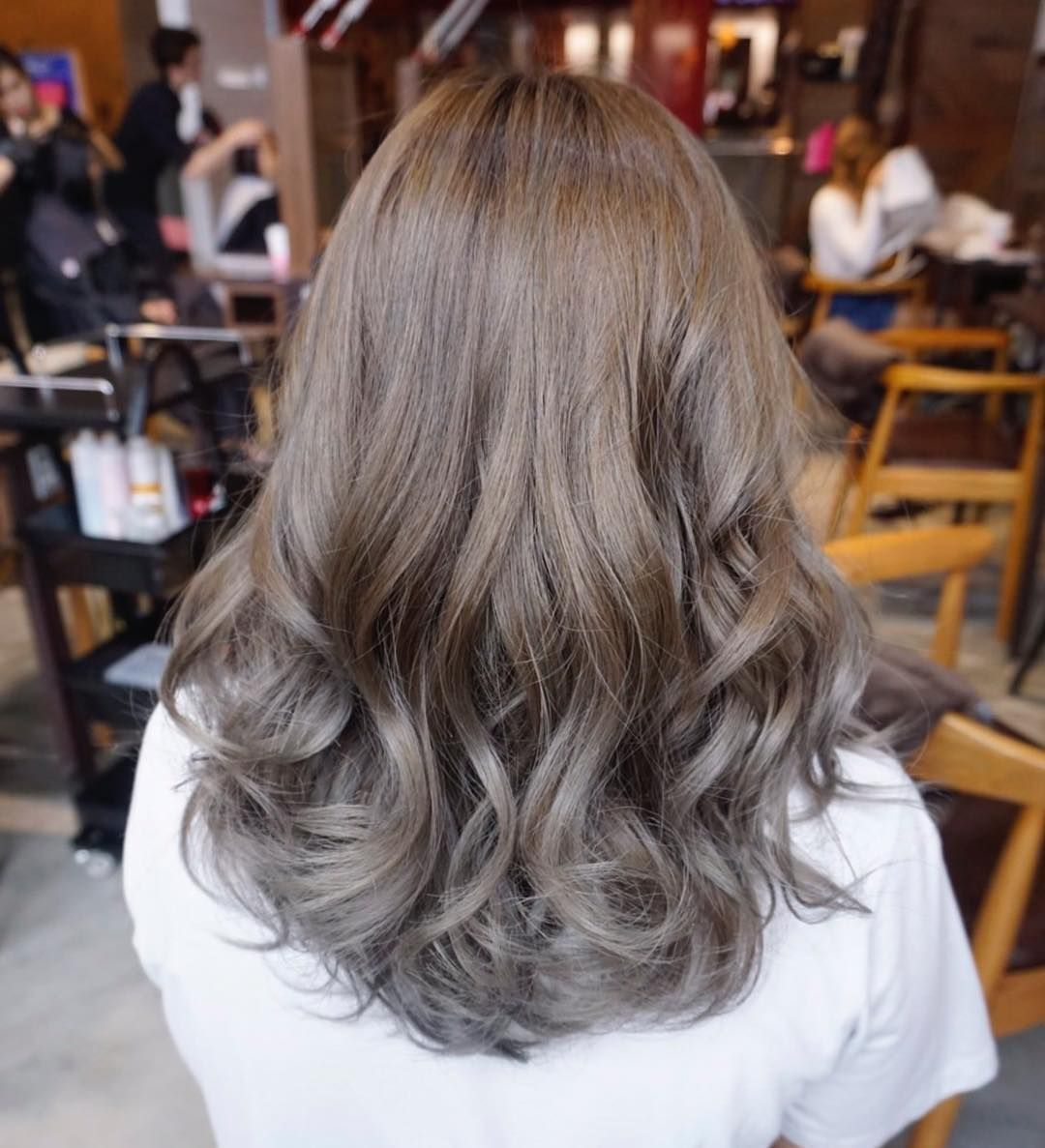 Image Result For Milk Tea Color Hair Hair Color Balayage Beige Hair Beige Hair Color