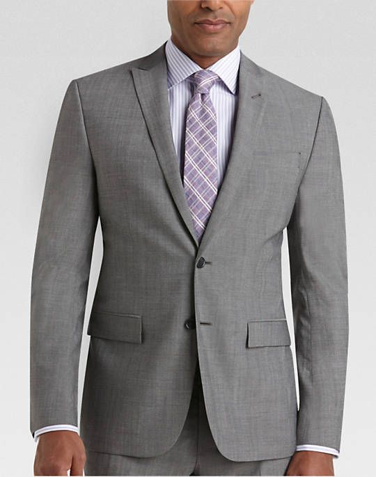 9e9cb84a2f09 Buy a JOE Joseph Abboud Light Gray Slim Fit Survival Suit online at Men's  Wearhouse. See the latest styles of men's Slim Fit. Available in regular  sizes and ...