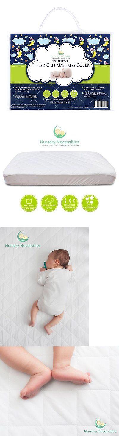 1 Best Crib Mattress Pad Waterproof Silky Soft Hypoallergenic